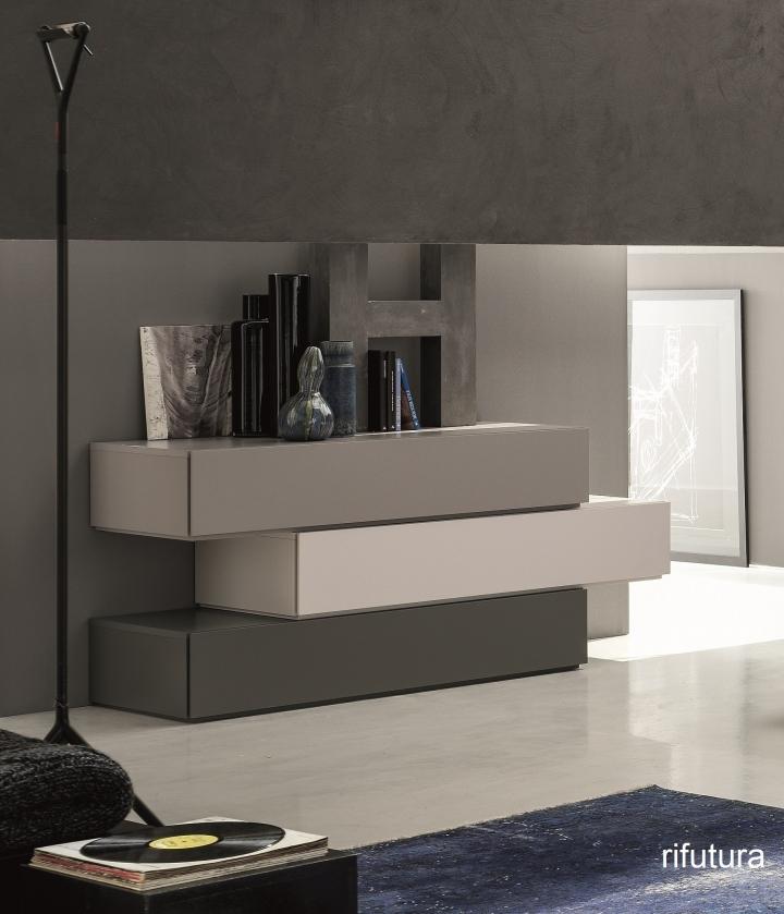 Com cassettiera moduli sfalsati sl obi bs019 l155 122 cm for Como x camera da letto
