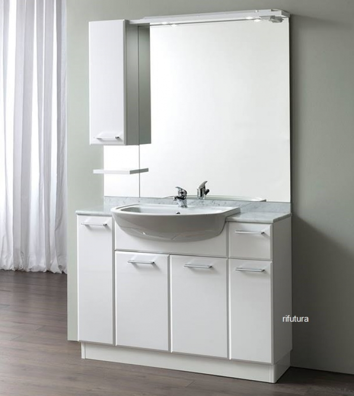 Mobile bagno a terra NC-EASY 007 L120 cm --------------- SOLD OUT