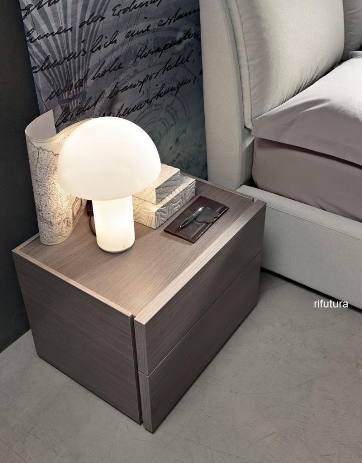 Gruppo notte trittico moderno af ellen comodini com for Trittico camera da letto moderno