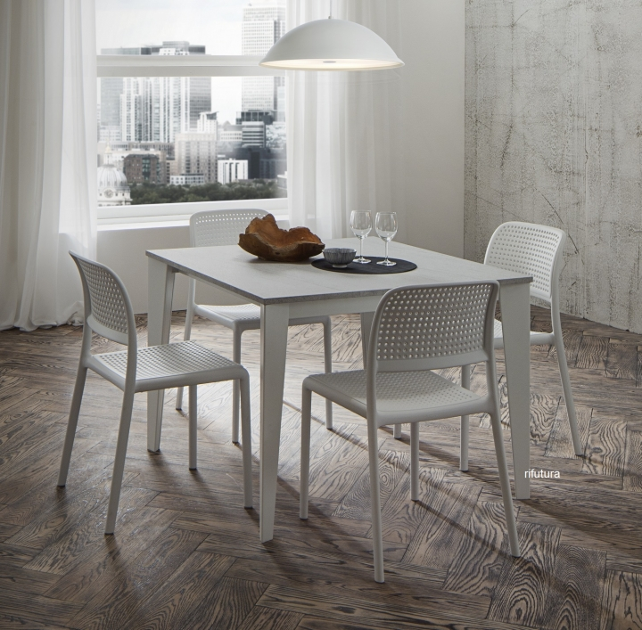 Tavolo quadrato allungabile PR-CARLO SUPER da 100 a 252 cm