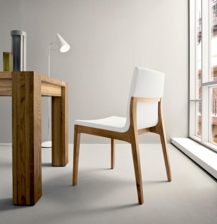 04 sedie sd lula legno ecopelle for Comprare sedie