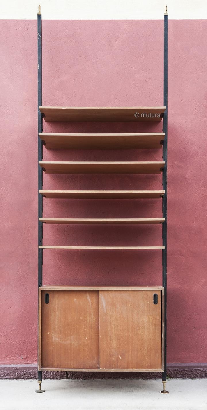 Libreria A Colonna Metallo Joker Cattelan : Libreria pavimento soffitto casamia idea di immagine