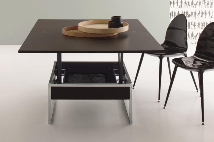 Tavolino salotto trasformabile in tavolo sd trendy rettangolare 76x120 152x12 ebay - Tovaglia per tavolo salotto ...