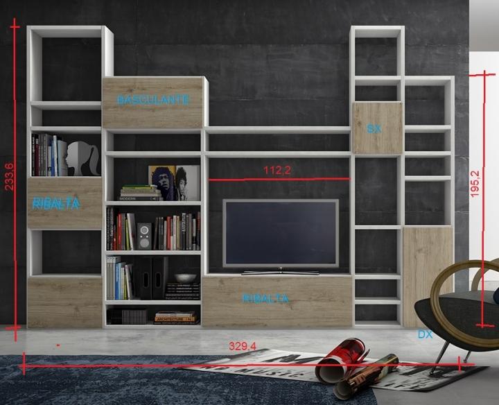 Libreria mobile idee creative su interni e mobili for Arredo farmacia usato