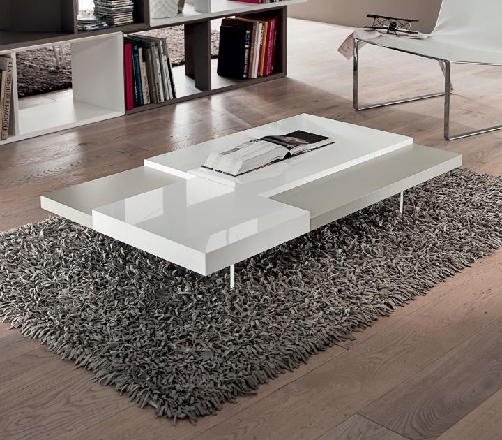 Sgabello lilla per camera da letto for Tavolini soggiorno moderni