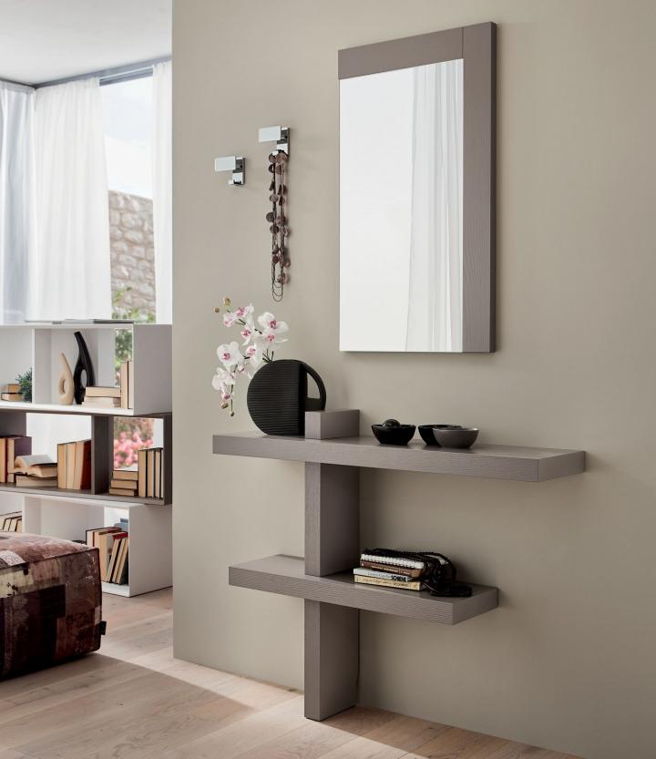 mobile ingresso consolle specchio pr sandy con