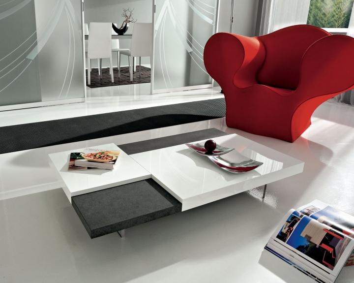 Tavolino salotto moderno basso pr erica for Design moderno a basso costo con 3 camere da letto