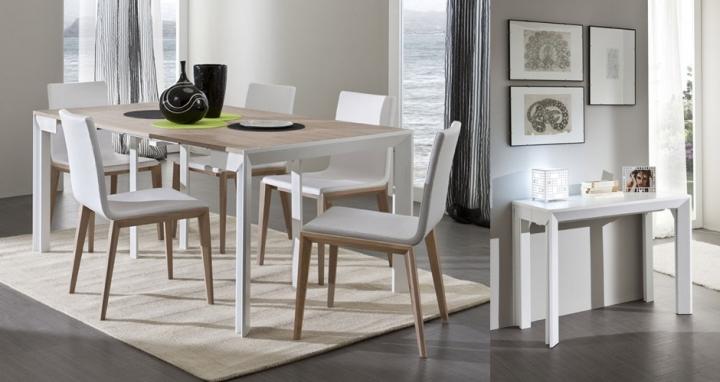 Consolle allungabile tavolo pr franco 46 307 tavolo per 12 for Tavolo x 20 persone