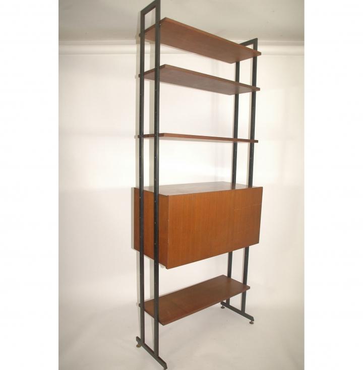 Mobile bar libreria vintage 50 60 stile gio ponti design 5r - Gio ponti mobili ...