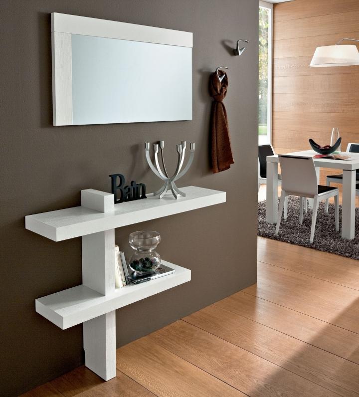 Ingresso moderno pr sandy consolle e specchio for Consolle per ingresso moderno