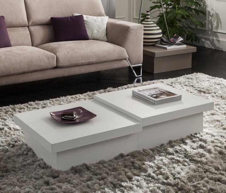 Coppia tavolini salotto soggiorno pr asia moderno 60x60 for Tavolino per salotto