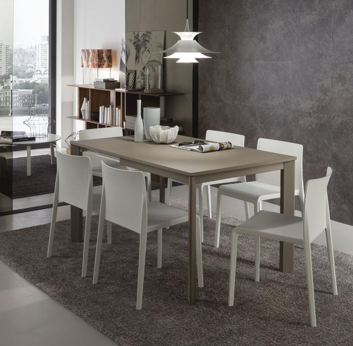 tavolo quadrato allungabile pr-mario super da 90 a 146 cm fenix ... - Tavolo Soggiorno Quadrato Allungabile